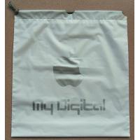 Buy White Double Layer Drawstring Plastic Bags Waterproof Bag For Iphone at wholesale prices