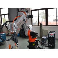China MIG TIG Robotic Welding Systems Servo Motor 10kg Max Payload Vertical Mounting on sale