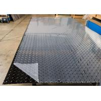 Buy cheap ASTM B209-10 5052 Aluminum Sheet , Aluminium Chequer Plate Sheet With One Side PVC from wholesalers