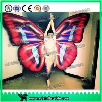 Quality Custom Inflatable Cartoon Characters , Digital Printing Inflatable Butterfly Wing Model for sale