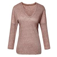 Natural Melange Linen Casual Ladies Clothing Long Sleeve Winter Collection