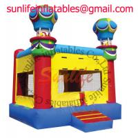 Quality inflatable 0.55mm pvc tarpaulin jumping castle BO040 for sale