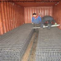 China Galvanized Mild Steel Grating Galvanized Grating Metallic Drainage Bar Grating/Galvanized Gi Heavy Duty Metal Steel Bar on sale