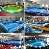 Inflatable square swimming pool inflatable pool water park Square swimming pools for sale