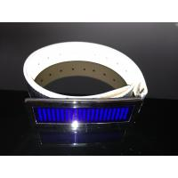 Quality Customized LED message display belt buckle for party for sale