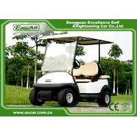 China Trojan Batteried Used Electric Golf Carts 4 Seater Curtis Controller on sale