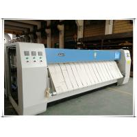 China Auto Industrial Laundry Flatwork Ironer Roller Iron For Bed Sheets Easy Operate on sale