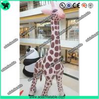 Buy cheap 6m High Inflatable Giraffe,Inflatable Giraffe Cartoon, Giraffe Animal Inflatable from wholesalers
