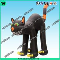 Quality Halloween Advertising Inflatable Cat, Halloween Decoration Inflatable Cat for sale
