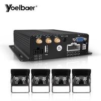 Quality Stable Performance Car DVR Security System 1080P SD MDVR 3G 4G GPS WIFI for sale