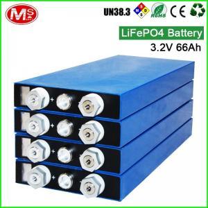 Quality 3.2V 66AH Communication Backup LiFePO4 Energy Storage Battery Factory Wholesale for sale