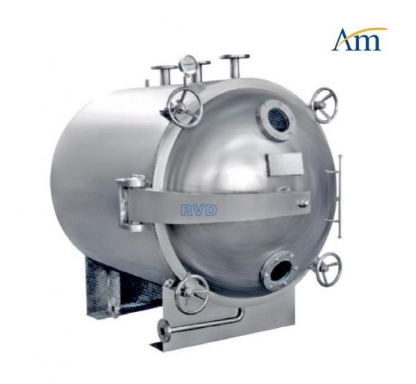 Buy Auto FZG YZG Round Vacuum Drying Chamber , - 0.1 Degree Vacuum Drying Equipment at wholesale prices