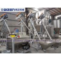 Quality Stainless Steel Inclined Screw Conveyor , Small Size Screw Feeder Conveyor for sale