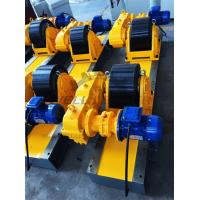 Quality Conventional Turning Roll Tank Welding Rotators PU 40000kgs Driving Inverter for sale