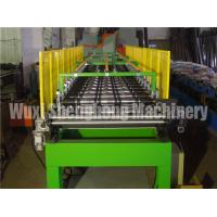 Quality Blue Corrugated EPS Sandwich Panel Production Line Water Resistant for sale
