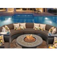 China Factory price outdoor real flame  bbq gas fireplace round fire pit on sale