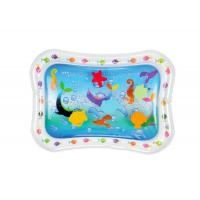 Quality Sea Fish Inflatable Baby Water Mat Cute Air Children Play Mat For Fun for sale