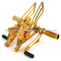 China High Strength Yamaha R6 Adjustable Rearsets, Light Weight Sportbike Rear Sets on sale