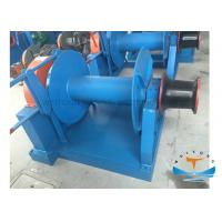Quality Hydraulic Single Drum Winch , Mooring Winch For Ships Compact Structure Design for sale