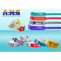 Buy cheap Conferences healthcare industry UHF RFID TAGS Wristband Disposable from wholesalers