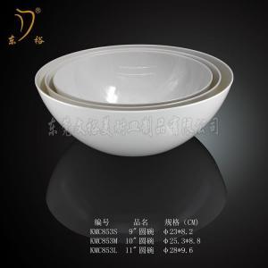 Quality BEST SELLER melamine bowl & melamine salad bowl / melamine SOUP bowl set Melamine Ware for sale