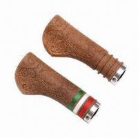 Quality Cork Hand Grip/Handlebars, Measures 130 x 22mm, Customized Designs are Accepted for sale