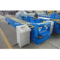 Quality High Precision Roofing Sheet Cold Steel Roll Forming Machine For Galvanized Steel for sale