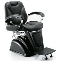 Quality Custom Leather Classic Salon Barber Chair Recline Backrest , 2*71.5*95-114cm for sale