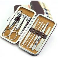 Nail Care 12 PCS  Personal Manicure Pedicure Set Grooming Kit