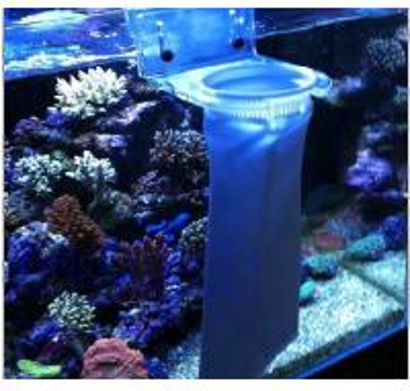 China bm aquarium fish tank bottom filter using pe bag of for Fish tank bottom filter