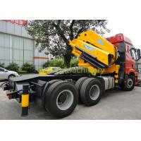 Quality 30T Folding Boom Truck Crane Middle Size Semi - Knuckle Boom Space Saving Type for sale