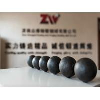 Quality 20-150mm C45  B2 B3 60Mn Forged steel grinding media balls for cement plant for sale