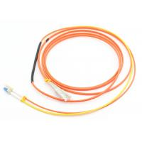 Quality Duplex 3.0mm Mode Conditioning Patch Cord 3M LSZH Orange For Gigabit Interface Converter for sale