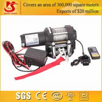 Quality 12v 9000lbs mini winch for 4X4 / car winch / electric winch 12v for sale