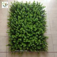 Quality UVG GRS05 Artificial Grass Panel Plastice boxwood mat plants garden decking for sale