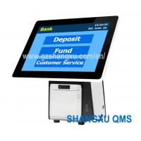 Buy cheap 15.6 inch Desktop Table Queue Number Ticket Dispenser Kiosk Machine,Queuing from wholesalers