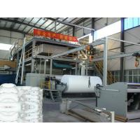 Quality High Efficiency Non Woven Fabric Making Machine With SIEMENS PLC Control System for sale