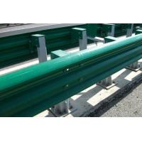Quality PVC Coating Thrie Beam Highway Guardrail Systems For Traffic Road Protection for sale