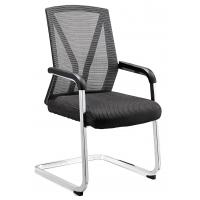 Quality Fireproof Nice Office Meeting Chairs For Secretary Metal Foot Long Using Life for sale