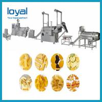 China Hot selling great quality Fried 3D Papad pellet Snacks food process line on sale