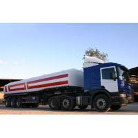 Quality 40000L-3 Axles-Carbon Stee Tanker Refuel Semi-Trailer for sale
