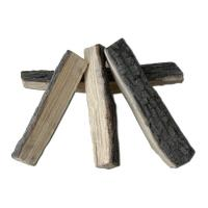 China Split Real Fyre  Ceramic Fire Logs Sets High Performance Inorganic Binders on sale