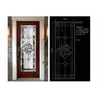 China Flat Edge Inlay Decorative Panel Glass Insulated / Bevelled / Polished on sale