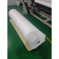 Quality Shrink Resistant PP Non Woven Material For BFE 95% White Disposable  Filter Fabric for sale