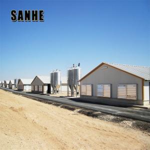 Quality Light Steel Frame Structures use for warehouse/Steel workshop/hangar/garage/chicken shed for sale