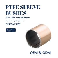 Buy cheap Guide PAF PAP Plain Bearings Steel Copper Sleeve Bushes from wholesalers