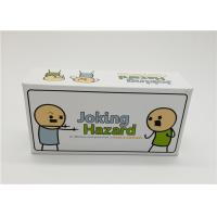 Buy Laminated Type Joking Hazard Card Games For Teens Recyclable Waterproof at wholesale prices