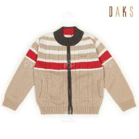 China Winter Warm 100% cotton Knitted Girls Sweaters / 2 - 8Y Unisex Baby Knitted Cardigans on sale