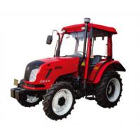 Quality 40HP - 50HP Four Wheel Tractor Red Color Small Farm Tractors CE Certificate for sale
