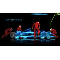 Buy cheap Pepper Ghost Projection Hologram Foil 3D Transparent Holographic Foil from wholesalers
